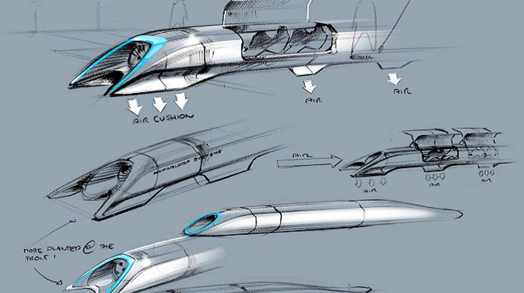 Elon Musk is back with an high speed transit-system he calls the Hyperloop!